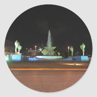 Plaza Caracol Fountain, Cancun Stickers