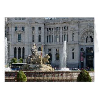 Plaza de Cibeles, Madrid Card