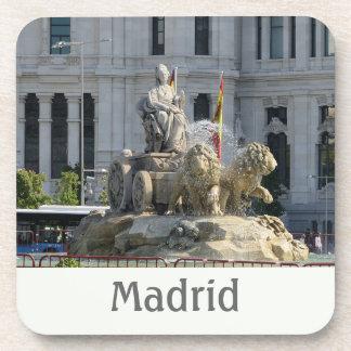 Plaza de Cibeles, Madrid Cork Coaster