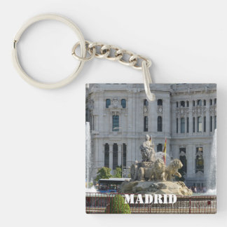 Plaza de Cibeles, Madrid Key Chain