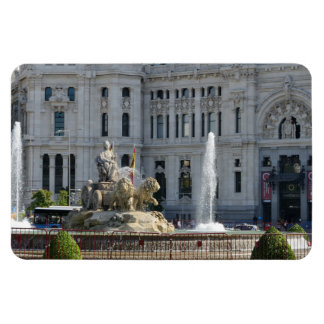 Plaza de Cibeles, Madrid Premium Magnet