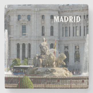 Plaza de Cibeles, Madrid Stone Coaster