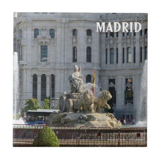 Plaza de Cibeles, Madrid Tile