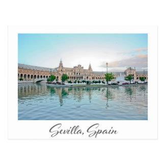 Plaza de España Seville Sevilla Spain postcard