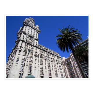 plaza independencia palacio salvo postcard