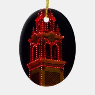 Plaza Lights Of Kansas City! Ceramic Oval Ornament