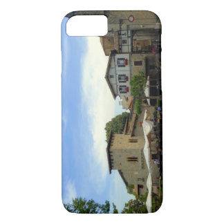 Plaza San Francisco in Pamplona iPhone 8/7 Case