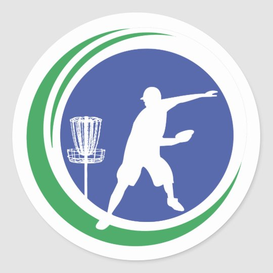 PLDGA Logo Classic Round Sticker
