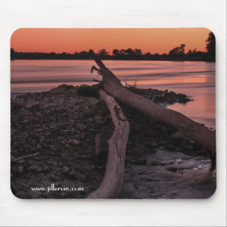 Pleasant and Peachy Mouse Pad