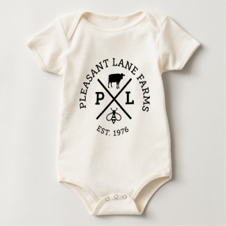 Pleasant Lane Farms Baby Bodysuit