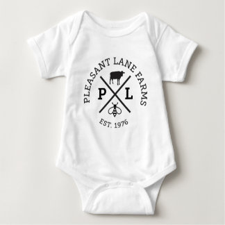 Pleasant Lane Farms Hat Baby Bodysuit