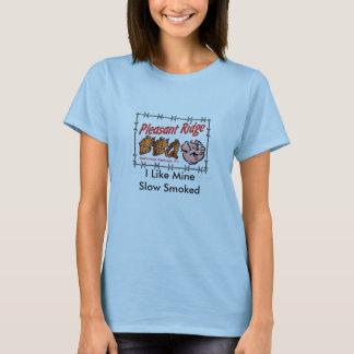 Pleasant Ridge BBQ Vert T, I Like MineSlow Smoked T-Shirt
