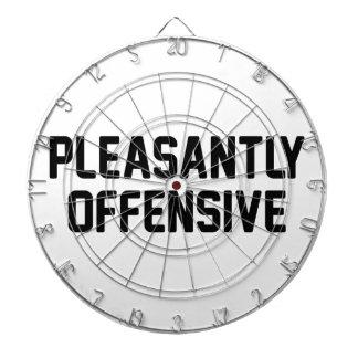 Pleasantly Offensive Dart Board
