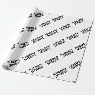 Pleasantly Offensive Wrapping Paper
