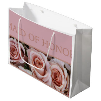 Please be my Maid of Honor? Large Gift Bag