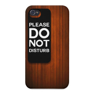 PLEASE DO NOT DISTURB CASE FOR iPhone 4