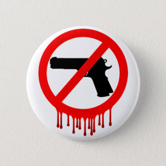 please do not use guns 2 inch round button