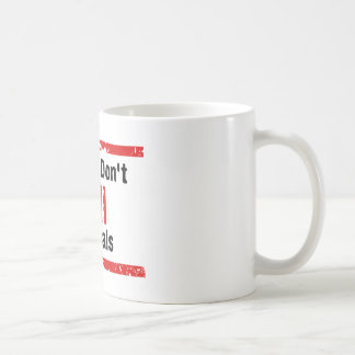 Please Don't Kill animals Classic White Coffee Mug