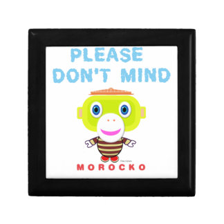 Please Don't Mind-Cute Monkey-Morocko Gift Box