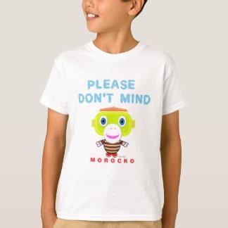 Please Don't Mind-Cute Monkey-Morocko T-Shirt
