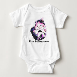 Please don't wake me up baby bodysuit