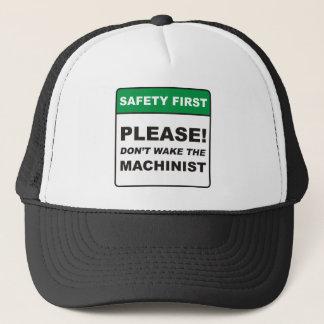 Please, don't wake the Machinist! Trucker Hat
