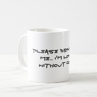 Please Drink From Me Mug