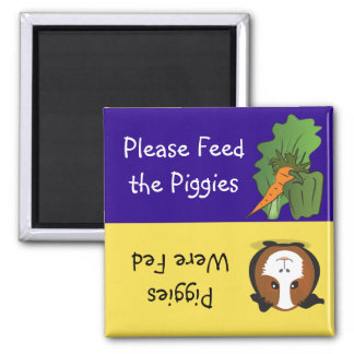 Please Feed the Piggies Magnet