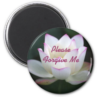 Please Forgive Me 2 Inch Round Magnet