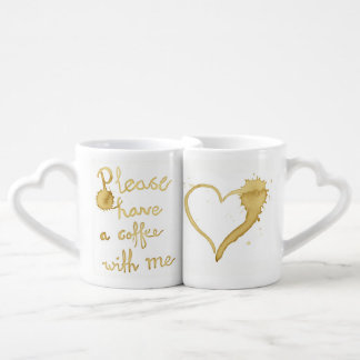 Please have a coffee with me, lovers mug