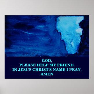 PLEASE HELP MY FRIEND POSTERS