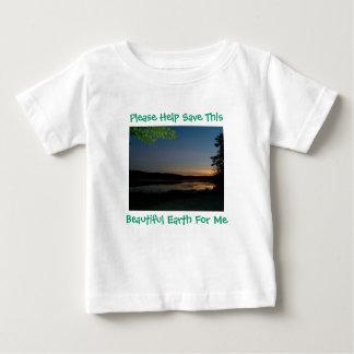 Please Help Save This, Beautiful Earth..T-Shirt Tee Shirt