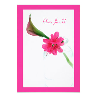 """Please Join Us 5"""" X 7"""" Invitation Card"""