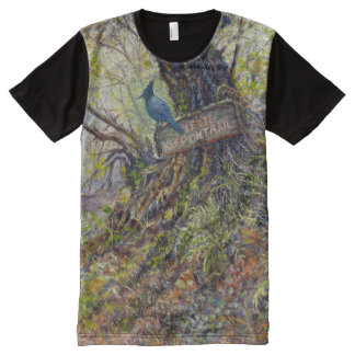 """""""Please Keep On the Trails"""" T-Shirt"""