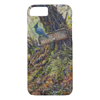 """Please Keep on Trails"" Phone Case"