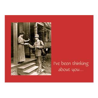 Please Mr. Postman Postcard