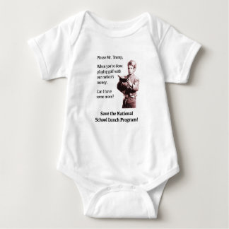 Please Mr. Trump, Can I Have Some More? Baby Bodysuit