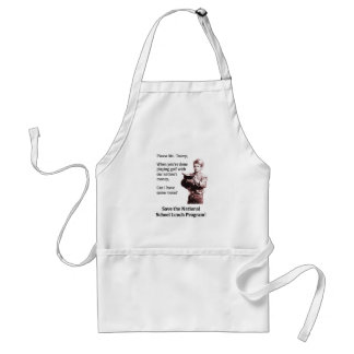 Please Mr. Trump, Can I Have Some More? Standard Apron