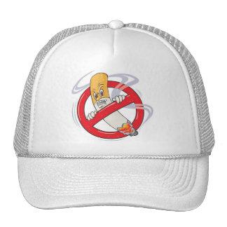 please no-smoking mesh hat