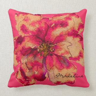 Please Paint Me Autumn Floral Pillow