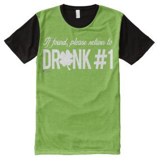Please return to Drunk 1 - Irish Humor Design --.p