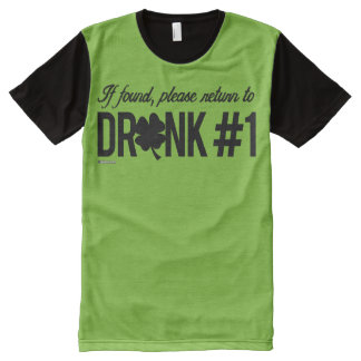 Please return to Drunk 1 - Irish Humor Design -.pn