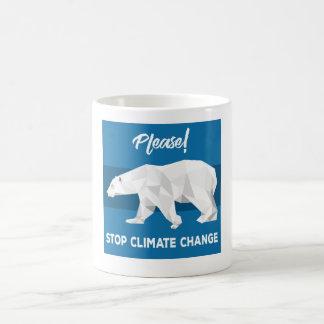 Please Stop Climate Change Coffee Mug