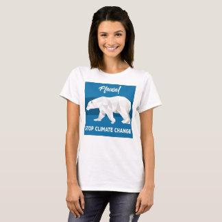 Please Stop Climate Change T-Shirt
