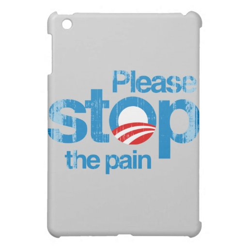 Please stop the pain Faded.png iPad Mini Cases