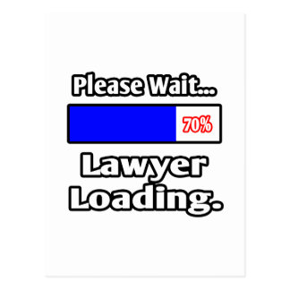 Please Wait...Lawyer Loading Postcard