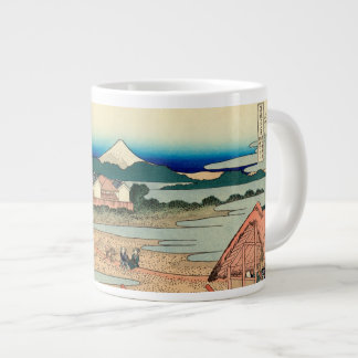Pleasure District at Senju Large Coffee Mug