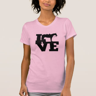 Pleasure Horse Love Tshirts