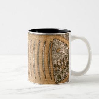 Pleciodekus Blonde Two-Tone Coffee Mug