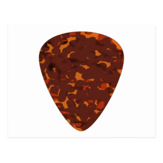 Plectrum Postcard